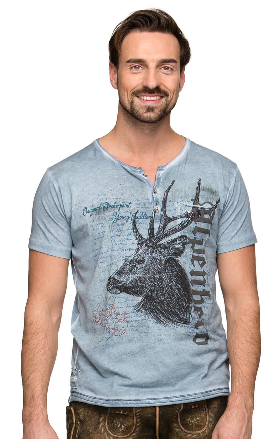 Trachten T-Shirt South sky von Stockerpoint