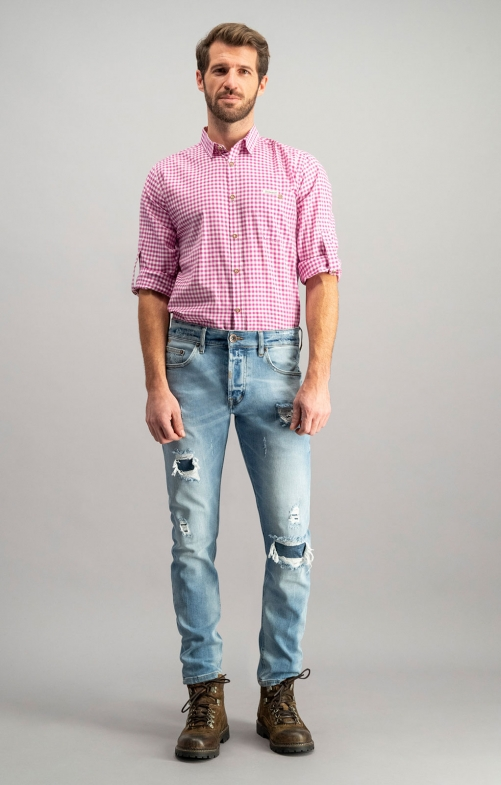 Trachtenjeans No1-10 stonedestroyed