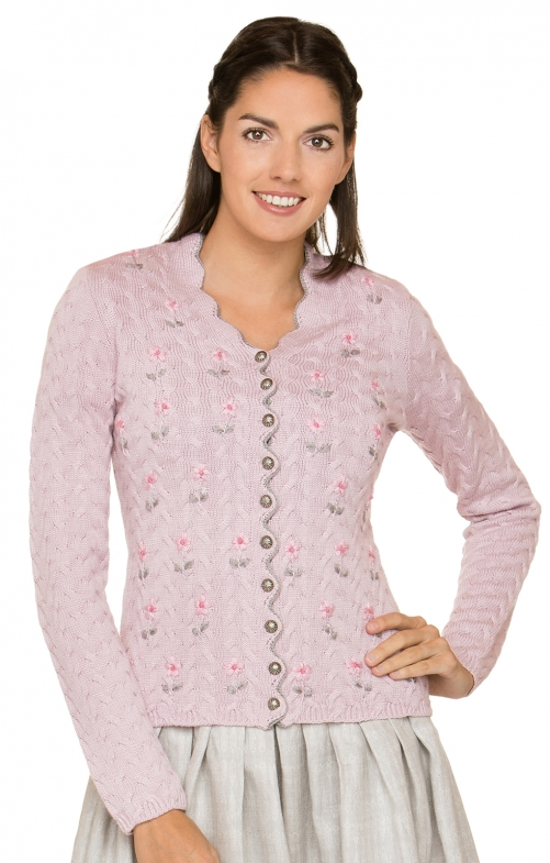 Strickjacke MARLENE rose